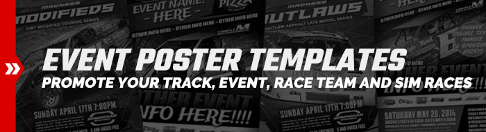 Motorsports Event Poster Templates