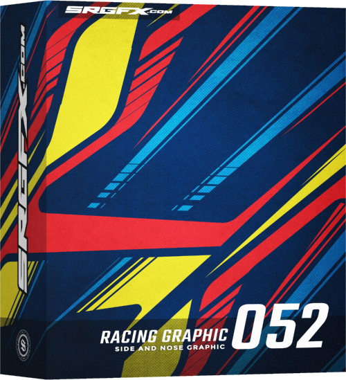 SRGFX Vector Racing Graphic 052 Box