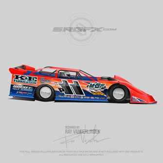 Dirt Late Model Archives | School of Racing Graphics