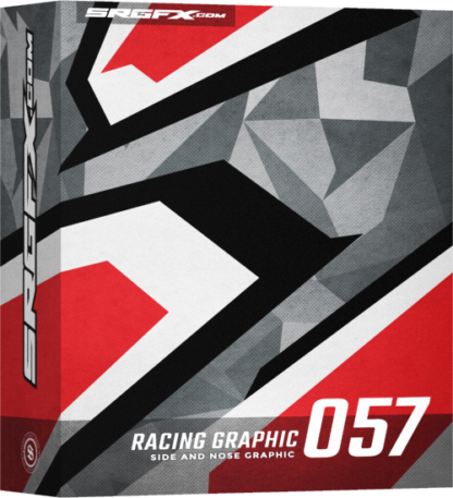 SRGFX Vector Racing Graphic 057