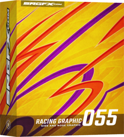 SRGFX Vector Racing Graphic Single 055 Box