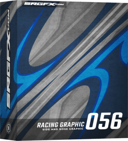 SRGFX Vector Racing Graphic Single 056 Box