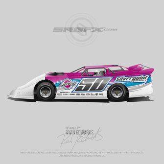 Silverpoint Drywall 2018 Dirt Late Model