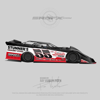 Stunners 2018 Dirt Late Model