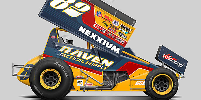 Raven Tactical Supply 2018 Sprint Car