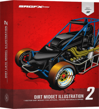 SRGFX Dirt Midget Illustration 2