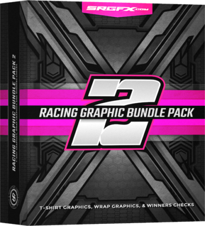 SRGFX Racing Graphic Bundle Pack 2 Box