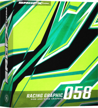 SRGFX Vector Racing Graphic 058 Box