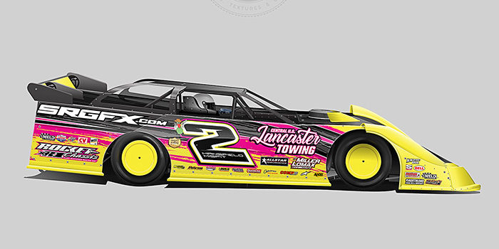 Tim Miller 2018 Dirt Late Model