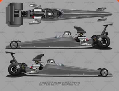 Super Comp Dragster Wrap Render Template