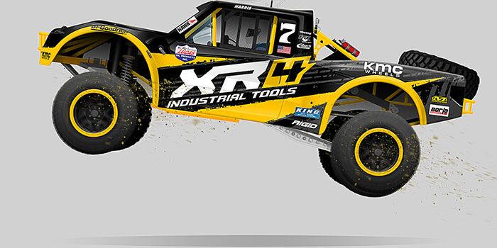 XR4 2018 Stadium Truck