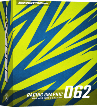 SRGFX Vector Racing Graphic 062 Box