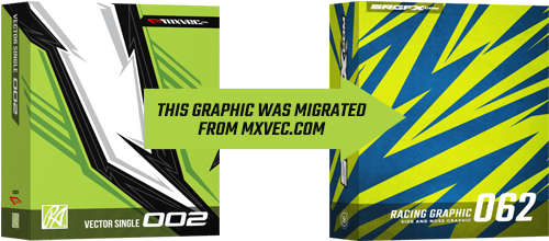 SRGFX Vector Racing Graphic 062 Migration