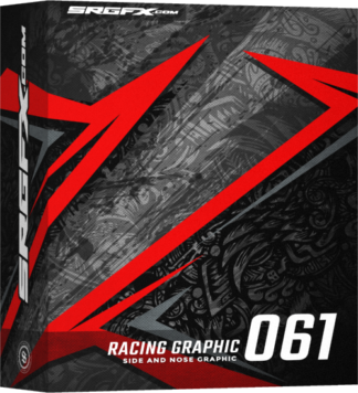 SRGFX Vector Racing Graphic 061