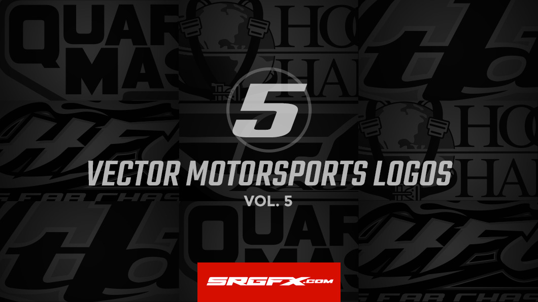 5 vector motorsports logos for download