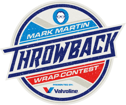 Mark Martin Throwback Wrap Contest Logo