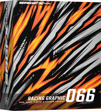 SRGFX Vector Racing Graphic 066 Box