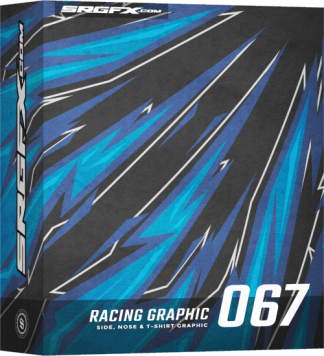 SRGFX Vector Racing Graphic 067