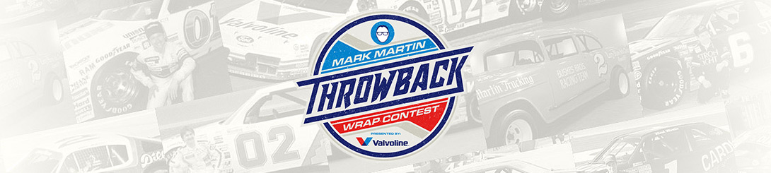 Mark Martin Throwback Wrap Competition