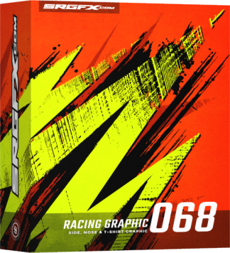 SRGFX Vector Racing Graphic 068 Box