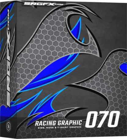 SRGFX Vector Racing Graphic 070 Box