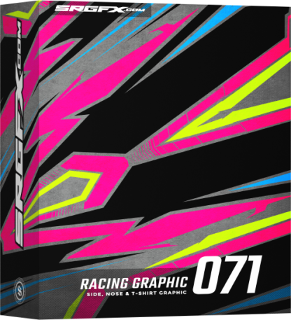 SRGFX Vector Racing Graphic 071 Box