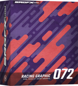 SRGFX Vector Racing Graphic 072 Box
