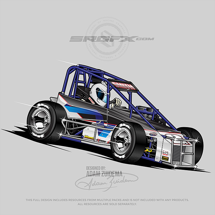 Smith 2018 TQ Midget illustration