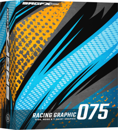 SRGFX Vector Racing Graphic 075