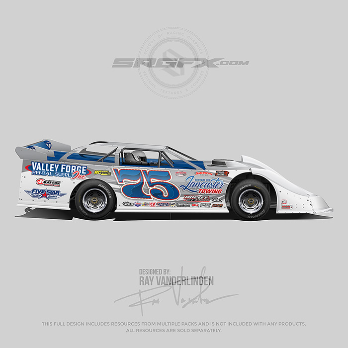 Valley Forge 2019 Dirt Late Model Wrap