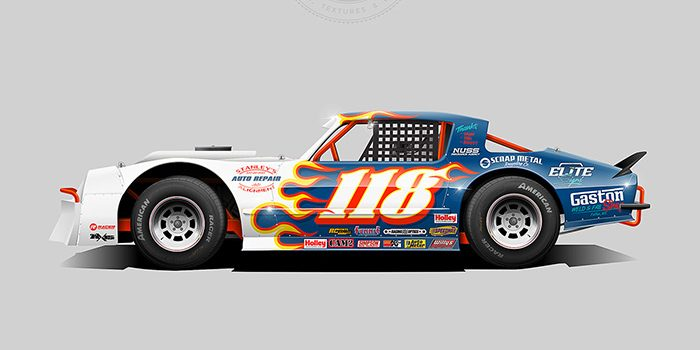 Gaston's Weld and Fab Shop 2019 Street Stock