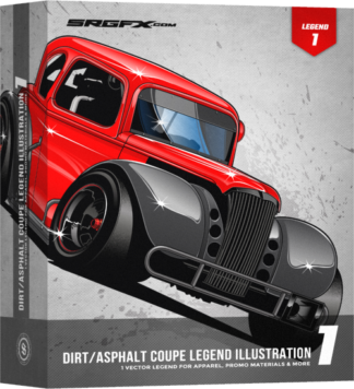 Dirt/Asphalt Coupe Legend Illustration