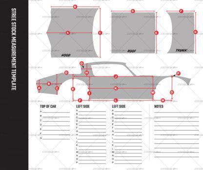 SRGFX Street Stock Template 3 Aftermarket Reminecsent of a Chevy Camari, Pontiac Firebird and Pontiac Trans-Am
