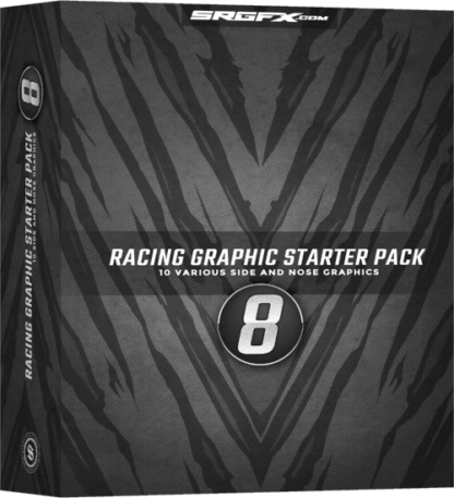 SRGFX Vector Racing Graphic Starter Pack 8