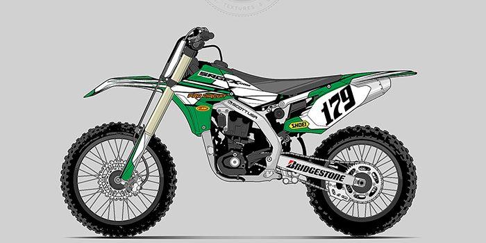 SRGFX Racing Graphic 079 Motocross Graphic