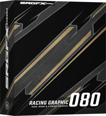 SRGFX Vector Racing Graphic 080 Box