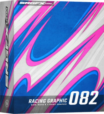 SRGFX Vector Racing Graphic 082 Box