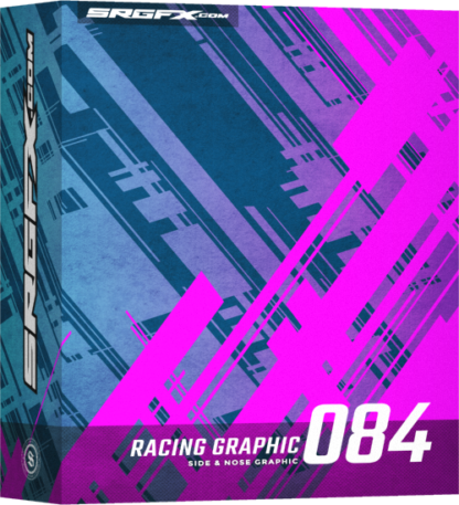 SRGFX Vector Racing Graphic 084 Box