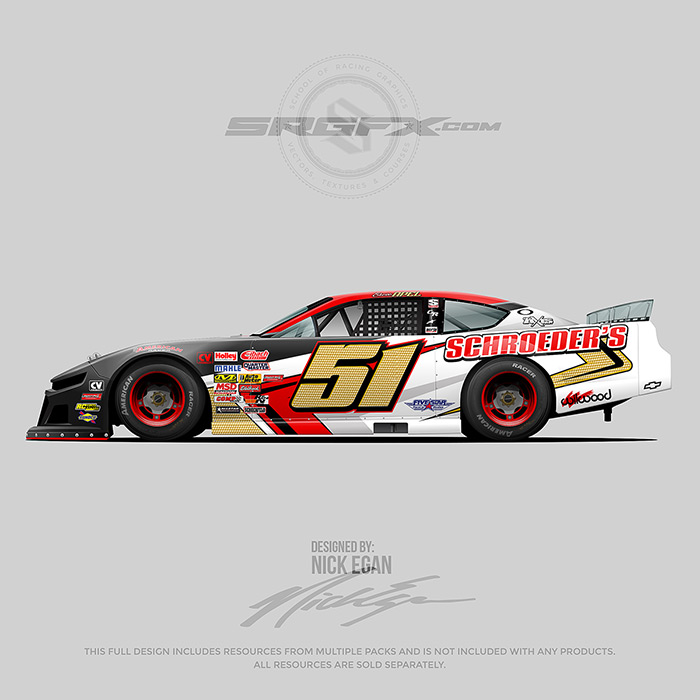 Schroeder's 2019 Asphalt Super Late Model