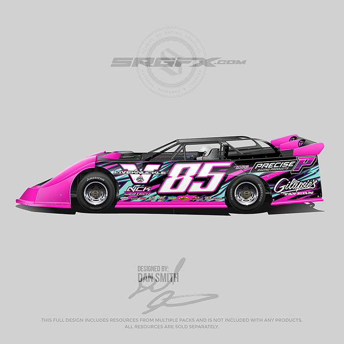 Precise Racing Products 2019 Dirt Late Model