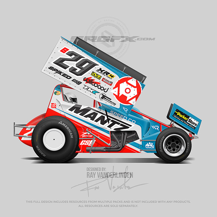 Mantz Speed Co 2019 Sprint Car