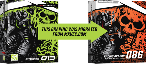 SRGFX MXVEC Vector Racing Graphic 086 Migration Banner
