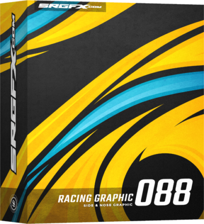 SRGFX Vector Racing Graphic 088