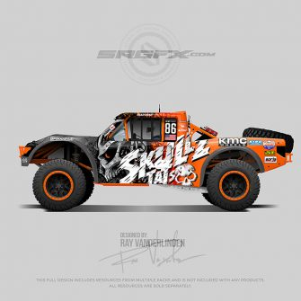 Skullz Tats 2019 Rally Truck