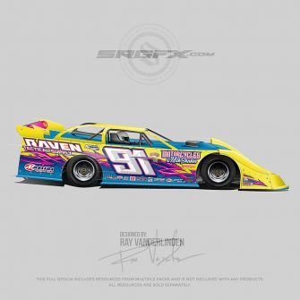 Raven Tactical Supply 2019 Dirt Late Model