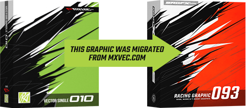 SRGFX MXVEC Vector Racing Graphic 093 Migration Banner