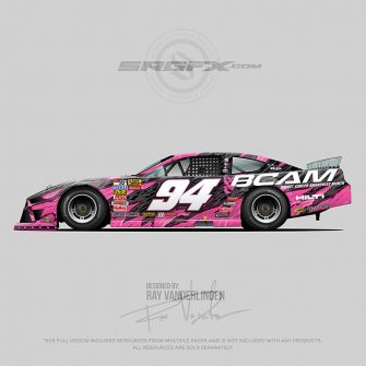 Breast Cancer Awareness 2019 Asphalt Late Model