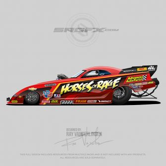 Horses of Rage 2019 Nitro Funny Car