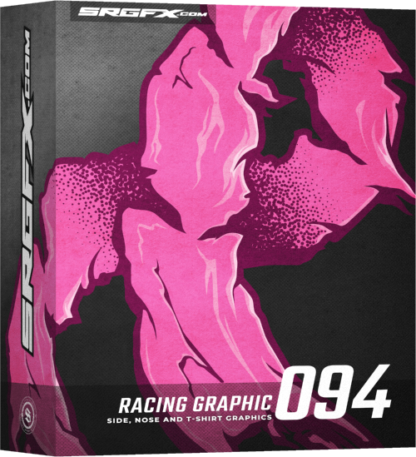 SRGFX Vector Racing Graphic 094
