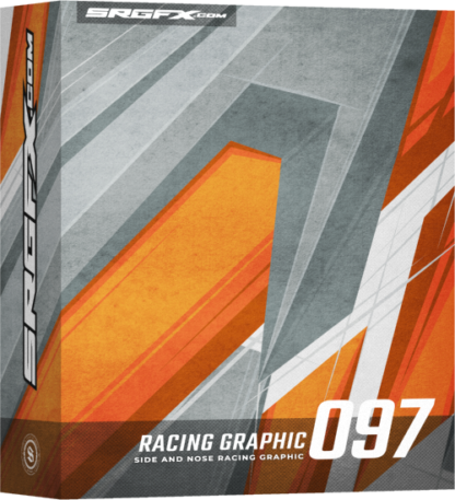 SRGFX Vector Racing Graphic 097